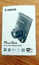 Canon Powershot ELPH 360 HS, 20.2MP Camera, 25mm wide, WIFI