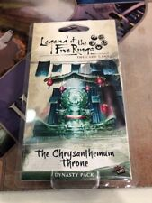 Legend of the Five Rings LCG Dynasty Pack: The Chrysanthemum Throne