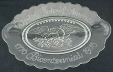 Vintage Avon United States of America Bicentennial 1776-1976 Glass Plate Dish