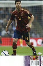 Xabi Alonso Signed 11x14 w JSA COA #N22285 Spain Real Madrid Bayern Liverpool