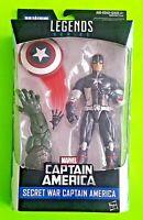 """Marvel Legends 6"""" Secret War Captain America Figure (Abomination BAF) - NEW"""