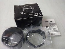 Ricoh GX-200     Digital Camera   Lens Hood and Adapter    HA-2  New In Box