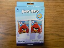 BESTWAY ANGRY BIRDS SWIMMING AID INFLATABLE ARMBAND KIDS FLOATIES 3-6 YRS - NEW