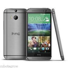 """HTC One M8 16GB/2GB Grey 4G LTE 5.0"""" Unlocked Mobile Phone Android Smartphone EU"""