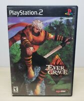 Evergrace - Sony PlayStation 2, 2000 - Complete & Tested