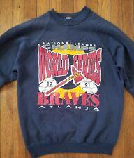 Vintage 1991 Atlanta Braves Sweatshirt L