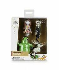 Disney Tim Burtons The Nightmare Before Christmas 4 Sketchbook Mini Ornament Set