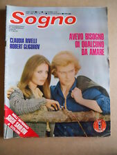 SOGNO Fotoromanzo n°21 1978 ed. Lancio  [G579]