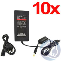 Lot - 10X AC Adapter Charger Power Cord Supply for Sony PS2 Slim A/C 7000 9000
