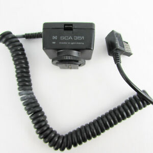 METZ SCA 351 Module for Leitz Leica R Cameras +300A adapter CT-3 CT-4 Flashes