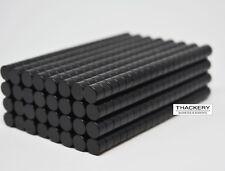 25/50/100 DISK CYLINDER MAGNETS 7mm x 6mm EPOXY COATED Neodymium N40