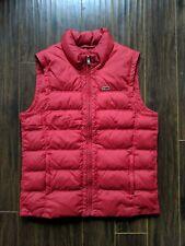 Napapijri Down Vest Men's Large Red
