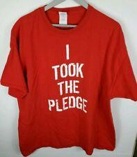 "Gildan Impact Wrestling ""I Took The Pledge"" Shirt 2XL Red"