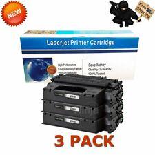 3 PK Q7553X 53X High Yield Toner Cartridge For HP LaserJet P2015 P2015dn M2727nf