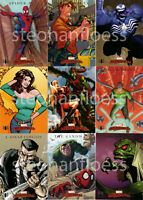 2007 Marvel Masterpieces 9 Card Spider-Man Insert Chase Set Venom