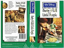DISNEY -  DARBY O'GILL AND THE LITTLE PEOPLE  *RARE VHS TAPE*