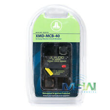 JL AUDIO XMD-MCB-40 WATERPROOF IGNITION PROTECTED MARINE CIRCUIT BREAKER 40 AMP
