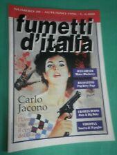 FUMETTI D'ITALIA N 20 1996 Origa  C.Jacono C. Burns J.Giraud Baldazzini  A