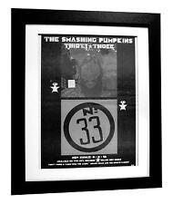 SMASHING PUMPKINS+Thirty Three+POSTER+AD+ORIGINAL 1996+FRAMED+FAST GLOBAL SHIP