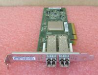 Qlogic QLE2562 Dual Port 8GB FC Fibre Channel PCI-E Full Height 2 x 8G SFP