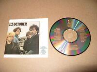 U2 October 11 track cd 1981  cd Made In Japan Rare