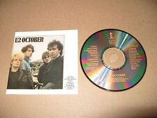 U2 October 11 track cd 1981  cd Made In Japan Rare