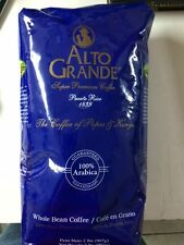 """Alto Grande"" Whole Bean Coffee - 2 lbs SUPER PREMIUM PUERTO RICO COFFEE"