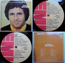 RICHARD ANTHONY DISQUE D'OR 1980 UNIQ CVR UNIQ ERROR (1977 IN LBL) CHILEAN PRESS