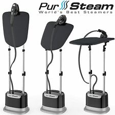 PurSteam Professional Series Garment Steamer Accessories for Clothes Dual-Pro