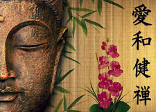 BUDDHA   Bali home decor * QUALITY CANVAS  PRINT