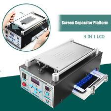 4 IN 1 LCD Touch Screen Glass Separator Vacuum Pump Splitter Machine UV Light