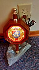 Late 1970's Early 1980's Vintage NOS Lighted Old Style Sign