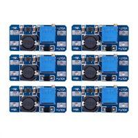 6pcs MT3608 DC 2A Step Up Power Module 2v-24v Boost Converter for Arduino Y7U8