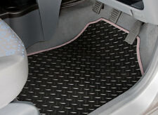 TAILORED RUBBER CAR MATS WITH GREY TRIM FOR HYUNDAI IONIQ (2016 ONWARDS) [3903]