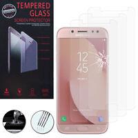 """3 Films Verre Trempe Protecteur Protection pour Samsung Galaxy J7 Pro 5.5"""""""