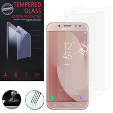 """3 Film Vetro Temperato Protettore Protezione per Samsung Galaxy J7 Pro 5.5"""""""