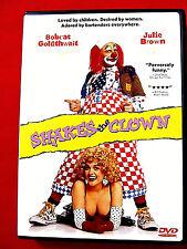 Shakes the Clown LN rental DVD OOP Bobcat Goldthwait Robin Williams Adam Sandler
