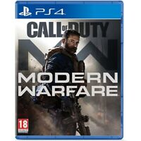 CALL OF DUTY MODERN WARFARE PS4 CD FÍSICO CASTELLANO ESPAÑOL NUEVO PRECINTADO