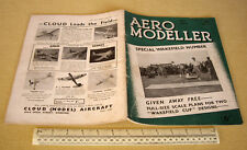 1939 VINTAGE AERO MODELLER MAGAZINE V4 #41. SPECIALE WAKEFIELD