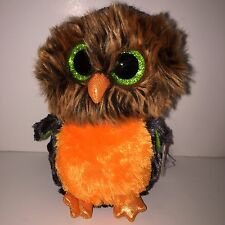 """TY MIDNIGHT OWL 6"""" BEANIE BOOS-NEW, MINT TAG*IN HAND**SO FUZZY **SHIPPING NOW"""
