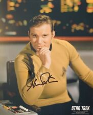 William Shatner HAND SIGNED STAR TREK 10x8 Convention Photograph *In Person*
