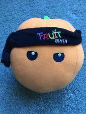"Fruit Ninja Video Game ORANGE Plush STUFFED TOY WITH SEWN EYES 8""  RARE"