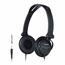 Sony MDR-V150 Headphones with Reversible Housing for DJ Monitoring - Black[Acces