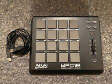 Akai MPD 18 Sampler PAD Midi Controller+ USB Kabel + Samples + Software für MPC