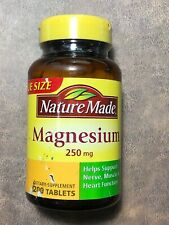 Nature Made  Magnesium 250 mg 200 Tablets