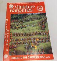Miniature Wargames Number 59 April 1988 oop SC