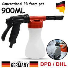 Schaumlanze KFZ Autoreinigung Foam Gun Waschen Schaumpistole Einstellbar 900 ML