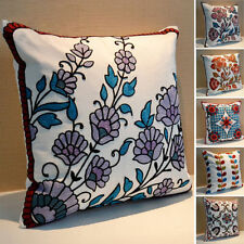 Embroidered Bedroom Ethnic Decorative Cushions & Pillows