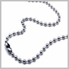 30 Inch Stainless Steel Ball Chain 2.4 mm Military Spec for Army Dog Tag