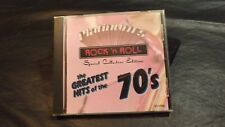 PLATINUM'S ROCK 'N ROLL VOL 3 CD WITH 10 SONGS GREATEST HITS OF '70'S 1992 WORKS